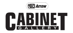 Arrow Cabinet Gallery Logo