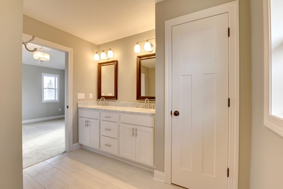 cabinets, white, painted