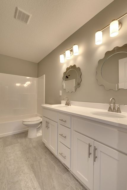 vanity, white, painted, cabinets